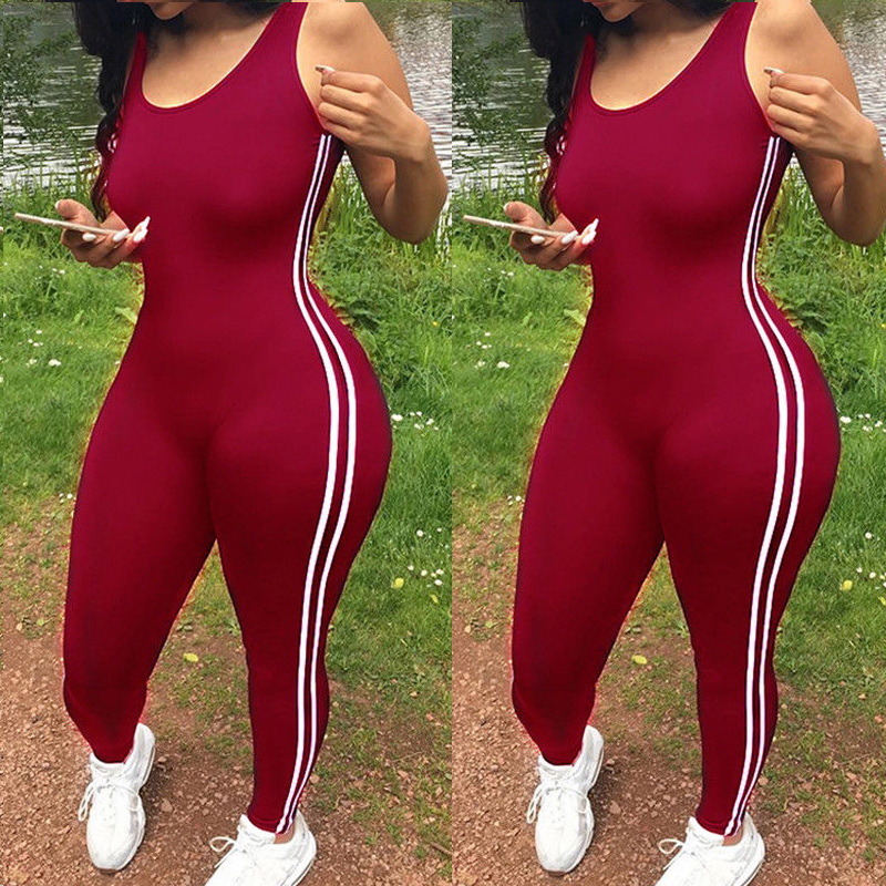 Women Fitness Leggings Pants   Jumpsuit   Athletic Romper