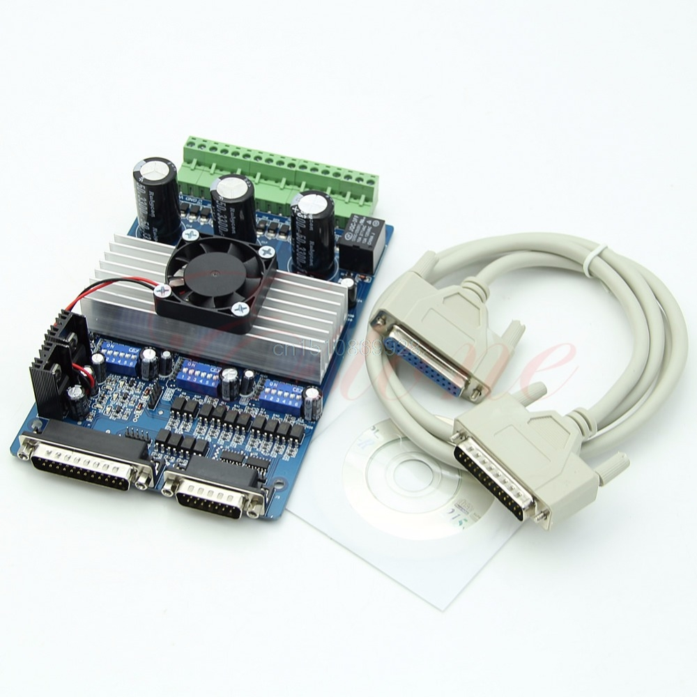 1pc TB6560 3 Axis CNC 3.5A Stepper Motor Driver Controller Board nema24 3nm 425oz in integrated closed loop stepper motor with driver 36vdc jmc ihss60 36 30