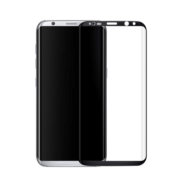 Complete Protector for Samsung Galaxy S8 G9500 3D Curved Tempered Glass Full Screen Protector Film 0.3mm