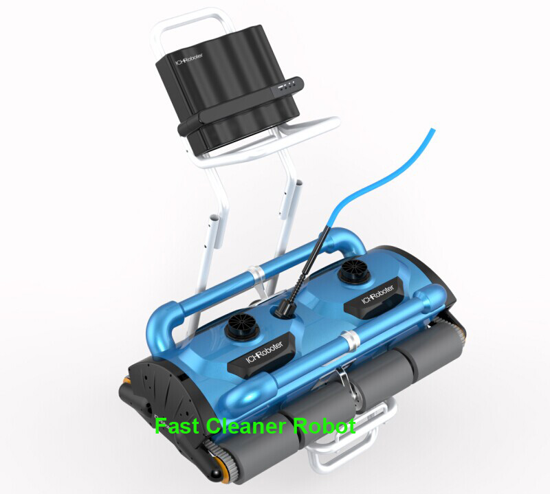 Commerical Use Robotic Automatic pool cleaner Icleaner 200D with 40m Cable For Big Pool Size At