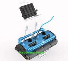 Handels Verwendung robotic Automatische reiniger Icleaner-200D mit 40 mt Kabel Für Große Pool Größe (mindestens 1000m2) mit Caddy warenkorb