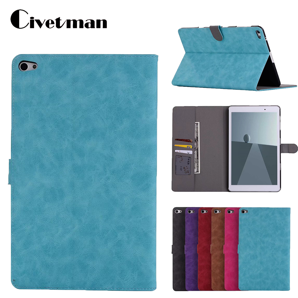Civetman Tablet Case For Huawei MediaPad T2 10.0 Pro Leather Cover for Huawei MediaPad M2 FDR-A01w M2 10.1 E-book Case g case executive чехол для huawei mediapad t2 10 pro black