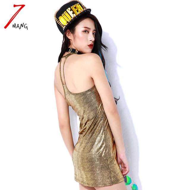 Primavera verão 2017 harajuku do punk cobra imprimir camisola das mulheres ouro e prata
