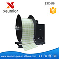 High Speed barcode label retractor auto label rewinder, automatic rewinding machine Bsc-u6