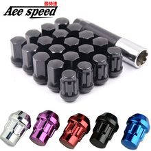 New Style for rays Wheel Nuts Iron Racing official Lug Nuts 20pcs lock racing lug nuts Wheel Screw Nuts for honda subaru nissna new style for rays wheel nuts iron racing official lug nuts 20pcs lock racing lug nuts wheel screw nuts for honda subaru nissna