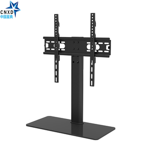 """Image 3 - Universal TV Table Monitor Base Stand Stable and Safety TV Floor Stand for Plasma LED LCD TV 32"""" to 55"""" up to 88lbs"""