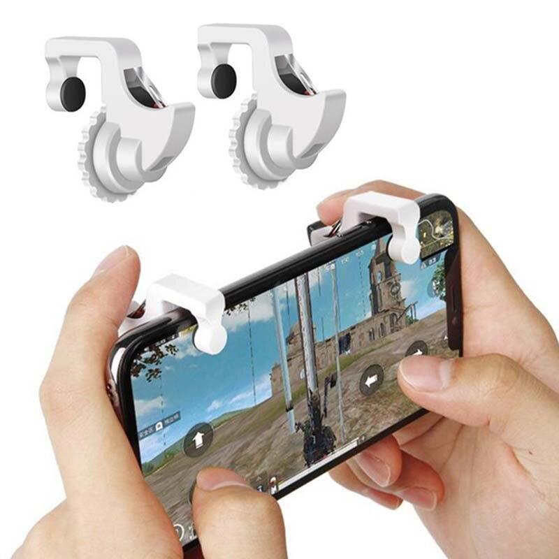 Fire Aim Button Auxiliary Key Phone Gamepad Handle Bracket Grip Holder PUBG Mobile