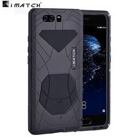 Huawei P10 Plus Case Metal Aluminum Silicone Phone Protect Bag Cover Case For Huawei P10 Plus