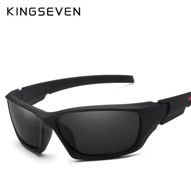 7898c98bf223 KINGSEVEN Fashion Polarized Sunglasses Men Luxury Brand Designer ...