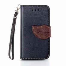 Elegant Leaf Design PU leather Wallet Case For apple iPhone 4 4s case Wallet Card Holder stand Flip Mobile Phone Bags cover