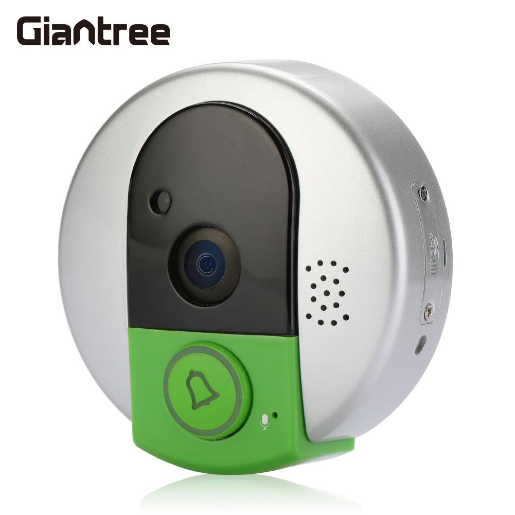 Здесь продается  Wifi Wireless Network HD Video Intercom Alarm Doorbell TF Card Night Vision Durable Remote IP Camera Infrared Webcam  Безопасность и защита