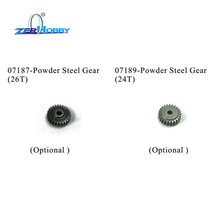 HSP RC CAR PARTS ACCESSORIES OF STEEL GEAR 26T 24T FOR HSP BLUE ROCKET ON ROAD GAS CAR 94052 (PART NO. 07187,07189)