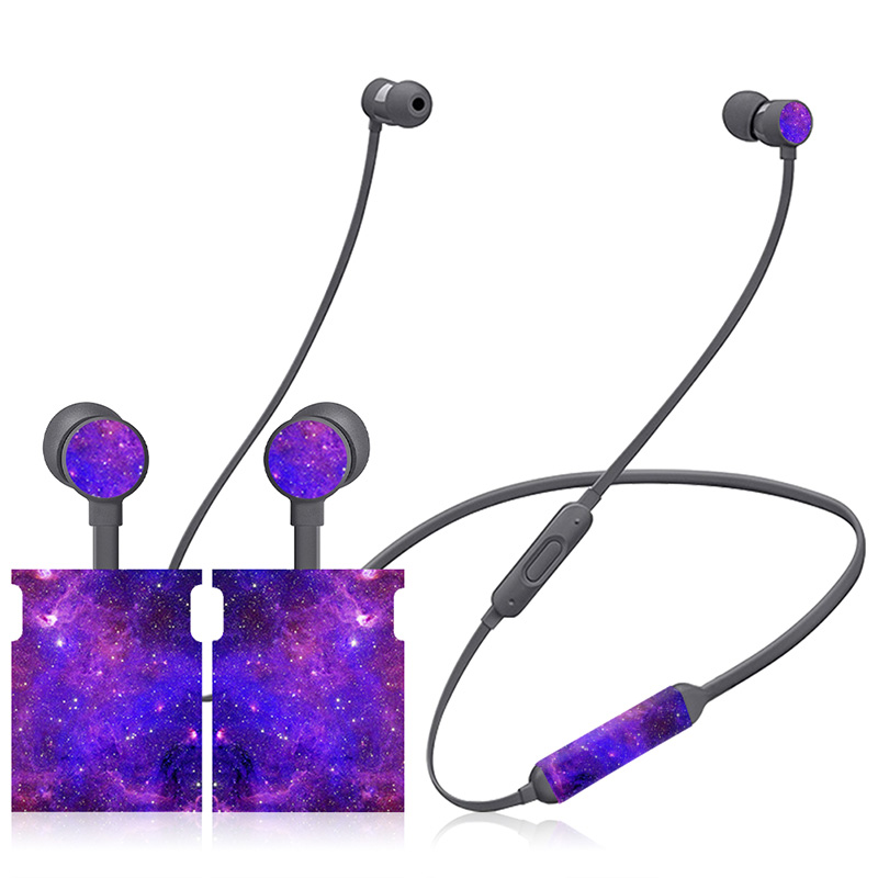 US $2 2 35% OFF|Lightweight fashion design decal For Beats X skin cover For  BeatsX sticker On Ear Headphone Battery free full body-in Stickers from
