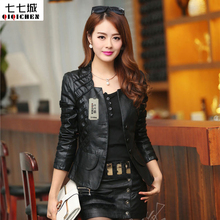 2017 Chaquetas De Cuero Mujer Spring Summer Jacket Women Fashion Motorcycle Leather Womens Slim Bicycle Ladies