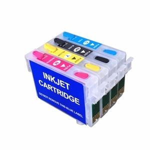 Чернильный картридж einkshop T0921 T0921N многоразового использования для Epson T0921-T0924 Stylus T26 T27 TX106 TX109 TX117 TX119 C51 C91 CX4300