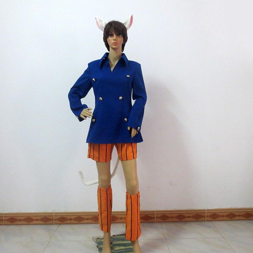 Anime Hunter X Hunter Neferpitou Halloween Cosplay Costume Custom Made