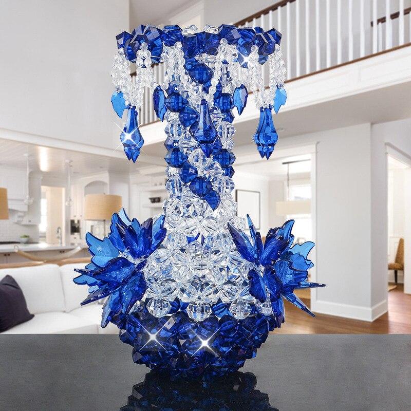 2018 Nouveau BRICOLAGE fait main Fleur Vase Acrylique Pendentif Bouteille Décoration Chambre Salon Maison Créative Décoration Artisanat