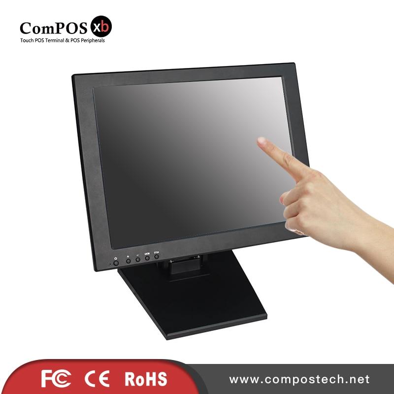 Il trasporto Libero 5 Fili Touch Screen Resistivo di Tocco Monitor 15