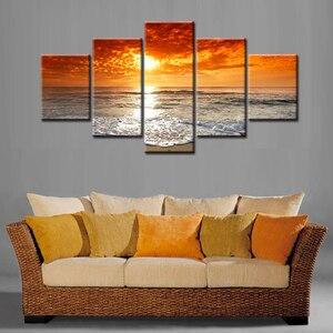 Картина для дома, 5 панелей, декор для стен, на холсте, с принтом