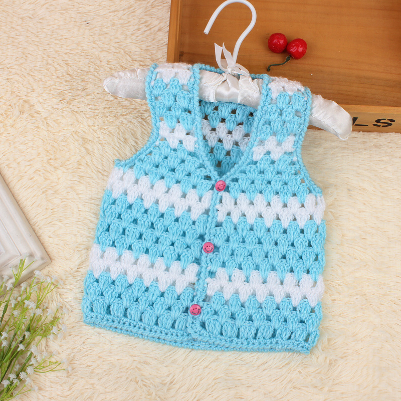 Aliexpress Buy Winter Baby Jas Warm Vest Newborn Knited