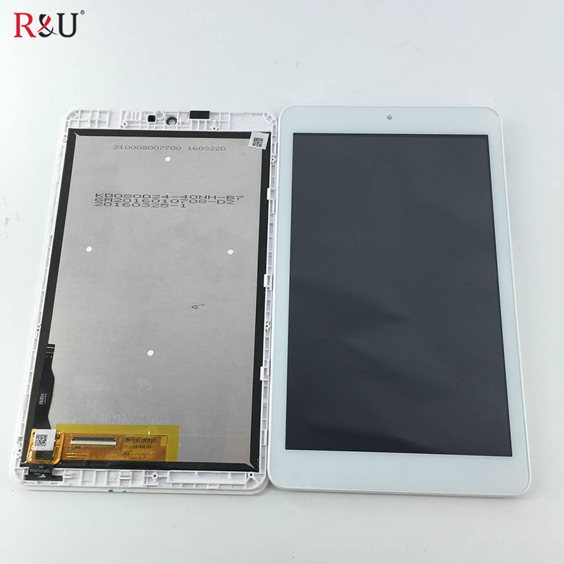 все цены на Test Good 8 inch LCD Display Panel + Touch Screen Digitizer Assembly + frame replacement For Acer Iconia one 8 B1-850 tablet pc онлайн