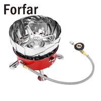 Useful Windproof Gas Stove Cooker Outdoor Cookware For Camping Hiking Picnic Cookout BBQ Supplies
