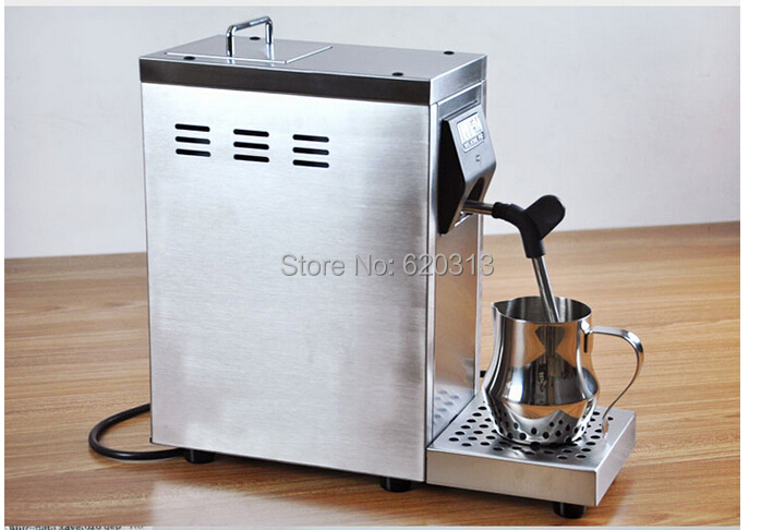 commercial stainless steel professional milk frother milk steamer for cappucinno and latte. Black Bedroom Furniture Sets. Home Design Ideas