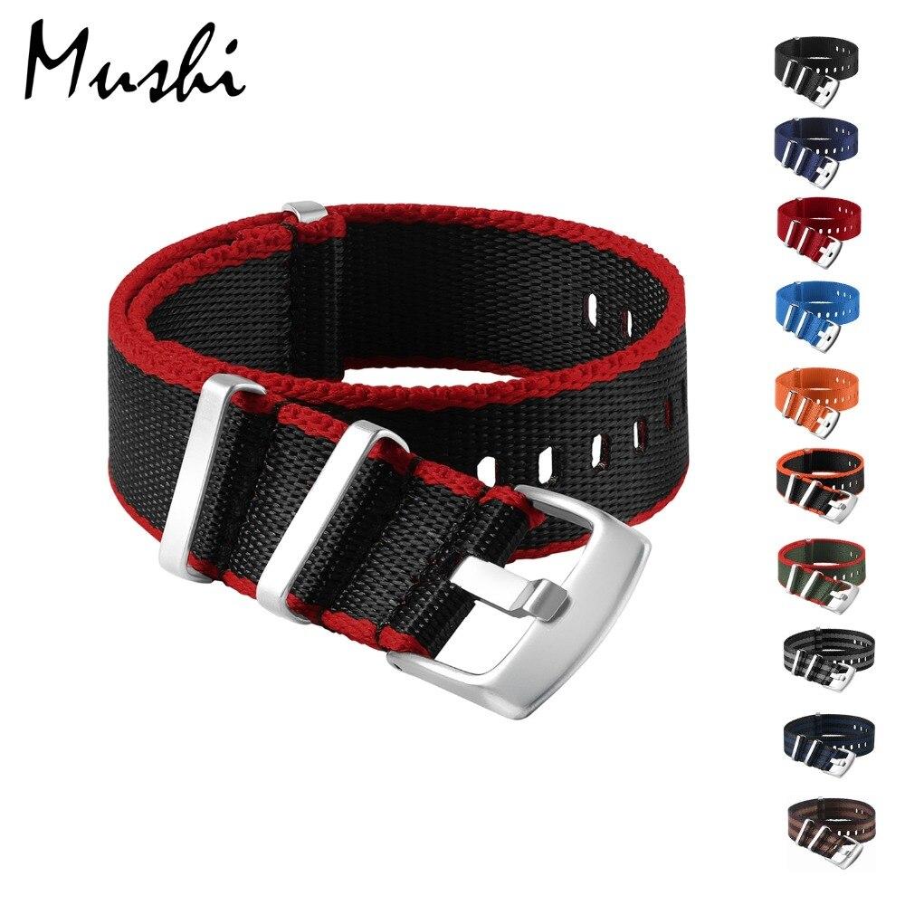 High Quality Canvas Nylon Watch Strap Bracelet 20 mm 22 mm 304L Steel Buckle Sport Watchband Watch Accessories for Men Women new design watchband 20 24 26 27 mm for diesel watch dz7313 dz7322 dz7257 men s women s watchbands with sliver buckle