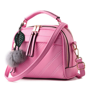 Image 3 - BRIGGS Fashion Quality Leather Female Top handle Bags Small Women Crossbody Bag Cute Shoulder Messenger Bag For Ladies Hand Bags