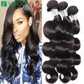 Virgo Hair Company Brasileño Virgin Hair Body Wave 4 Bundles MS aquí Visón 8A Lula Armadura Del Pelo Humano Productos Para el Cabello de Calidad Superior