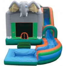 inflatable bouncer combo for kids and adults /inflatable bouncer slide combo for kids