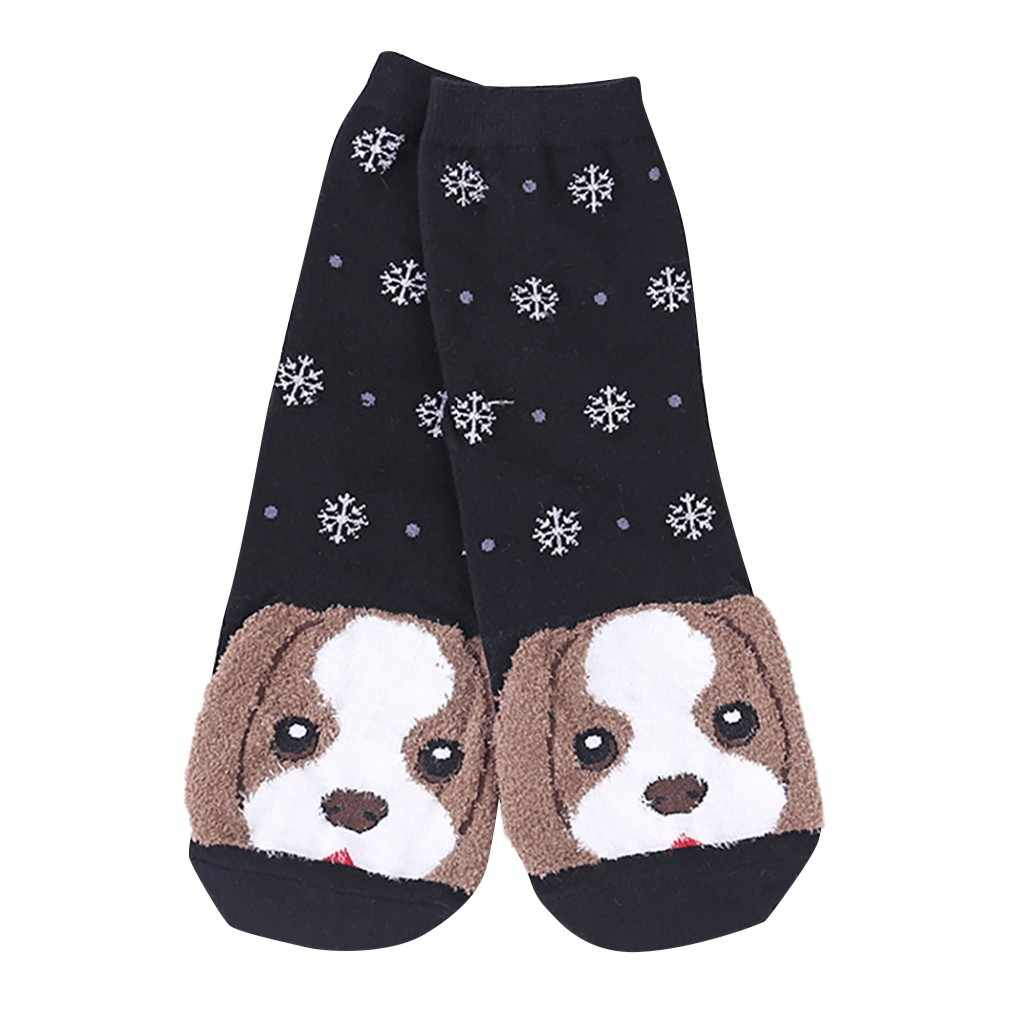 2019 New Women Man Cotton Socks Anti-dirty Anti-slip Animal Art Animation Character Cute Gift  Animationsfigur Socke Ankle Sock