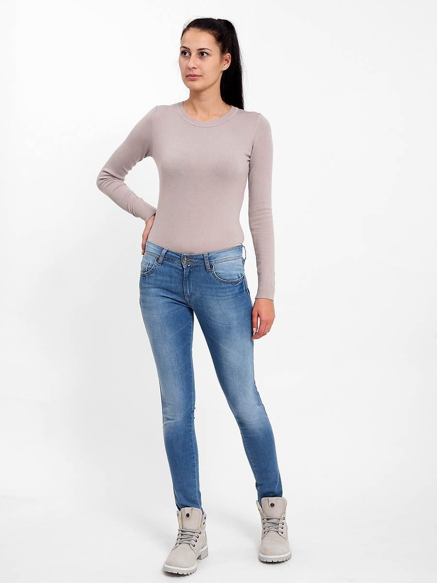 [] F5 Blue denim str. w.light185042 jeans women s blue denim 3220 str