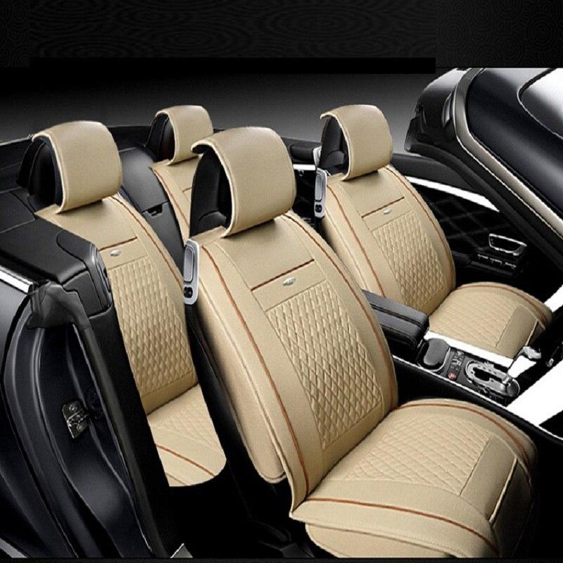 Авто сиденья полные комплекты Универсальный Fit 5 сиденье внедорожник седанов спереди/на заднем сиденье коврики автомобильные интерьер имит...