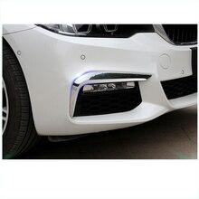 lsrtw2017 carbon fiber abs car foglight trims for bmw 5 series g30 g31 525 520 530 528 540 535 2018 2019 2020 e34 520 525 528 530 540