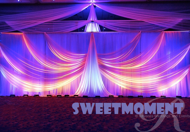 3x6m Luxury Wedding Backdrop For Wedding Decoration Wedding Drape