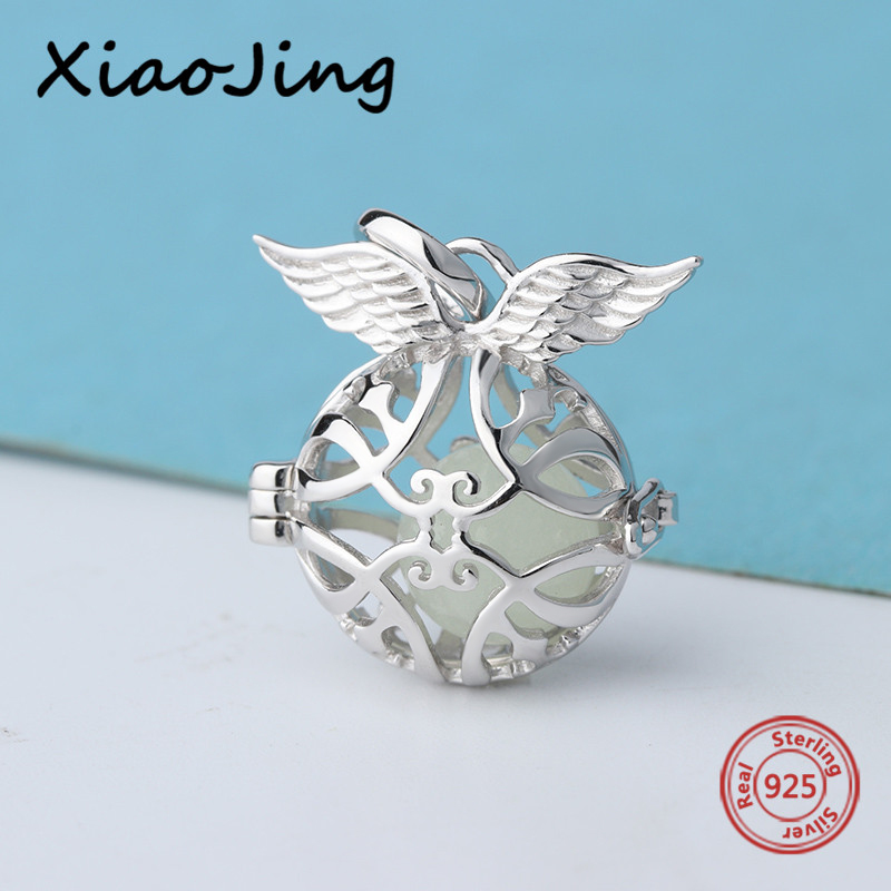 New arrival angel growing suspension charms 925 silver Beads Fit original Pandora Bracelet diy Jewelry for Valentine's Day Gift браслет с брелоками silver angel 10 diy m2398 new