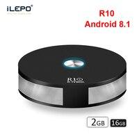 iLEPO R10 Android 8.1 Smart TV Box RK3328 Quad Core 2GB 16GB HD 4K Bluetooth 4.1 USB3.0 Wifi 2.4G&5G Top Box Player