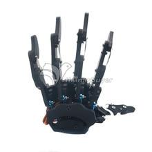Assemblé Cinq Doigts Main Droite et Main Gauche avec Servos Pince Mécanique Bras Griffe Collier pour Robot DIY