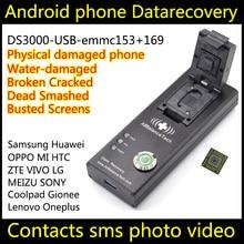 EMMC Reader eMMC buchse eMMC169 EMMC153 buchse USB EMMC Programmierer testsockel Gute qualität EMMC adapter BGA153 BGA169(China)