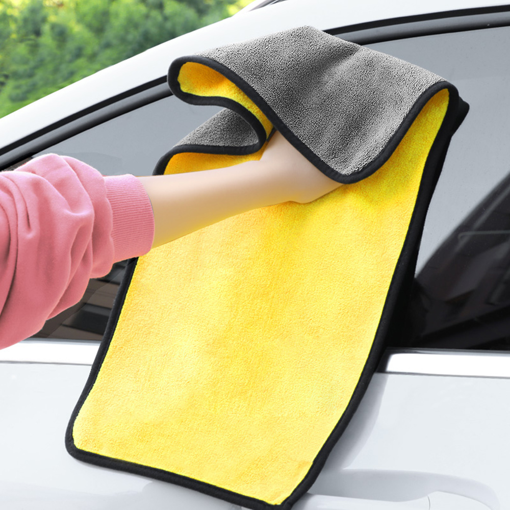 LEEPEE Cleaning Drying Cloth Tool Ultra Soft Microfiber Cloth For Volkswagen  Car Wash Towel 30*30/60cm Auto Care Detailing