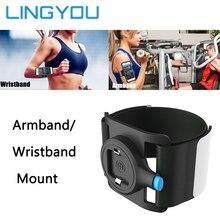 3.5 6.5 inç hızlı bırakma koşu çantası telefon tutucu erkek kadın kol bandı/bileklik koşu kemeri bisiklet spor kol bandı çanta iPhone