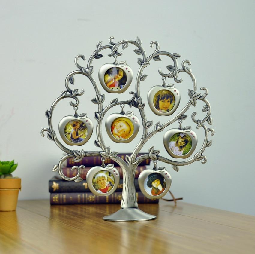Berlian Pengaturan Keluarga & Bayi Pohon Bingkai Foto ...
