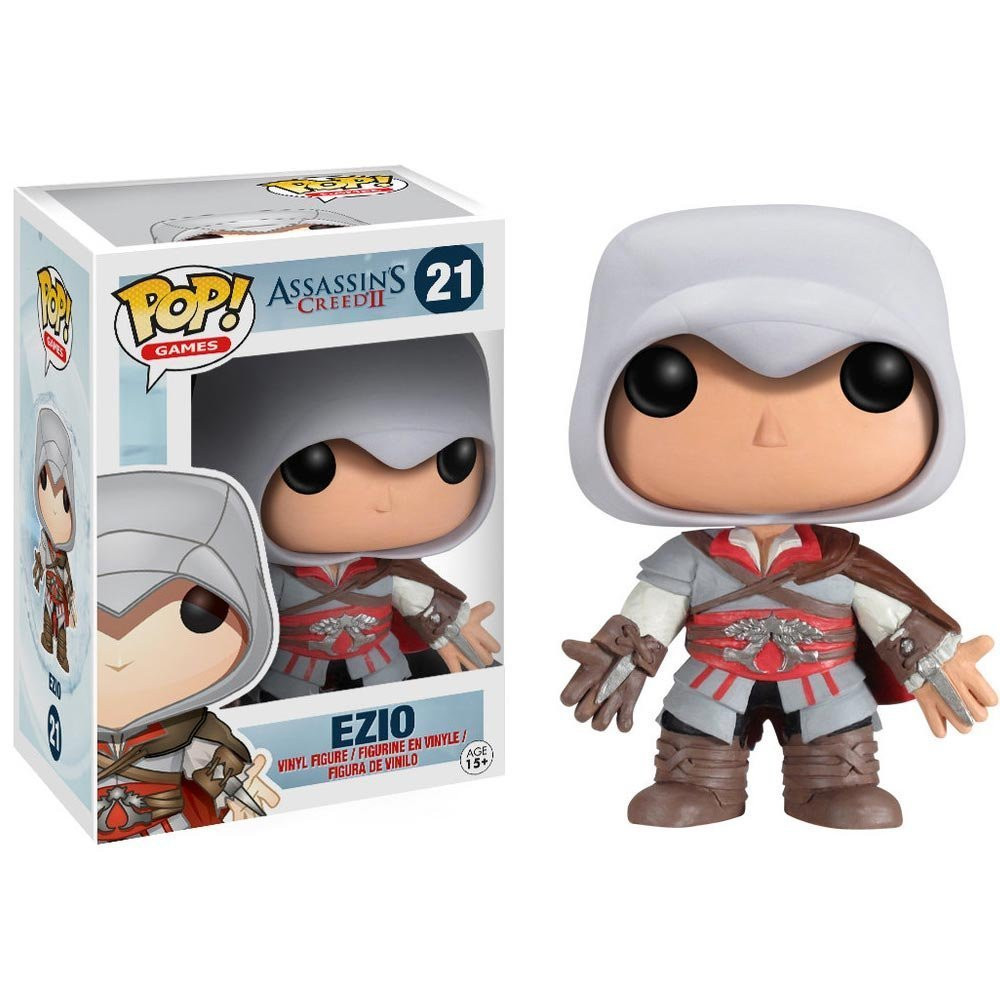 Assassins creed games free online - Funko Pop Games Creed Ezio Action Figure Model With Gift Box China Mainland