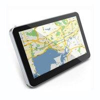 5-Inch Touchscreen 8 GB Geheugen GPS Amerika Kaart Europese Kaart Navigator 1800 mAh Ingebouwde Batterij GPS Navigatie Ondersteuning TF kaart