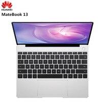 HUAWEI MateBook 13 ноутбук с системой Windows 10 Intel Core I5 8265U 4 ядра 1,6 ГГц 8 Гб оперативная память 256 SSD тетрадь 2160x1440 ips экран