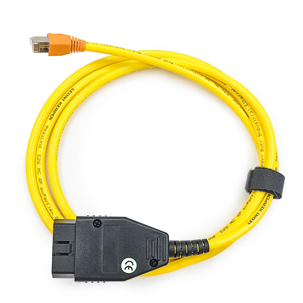 Новое поступление для BMW ENET(Ethernet к OBD) Интерфейс кабель E-SYS ICOM кодировкой F-серия