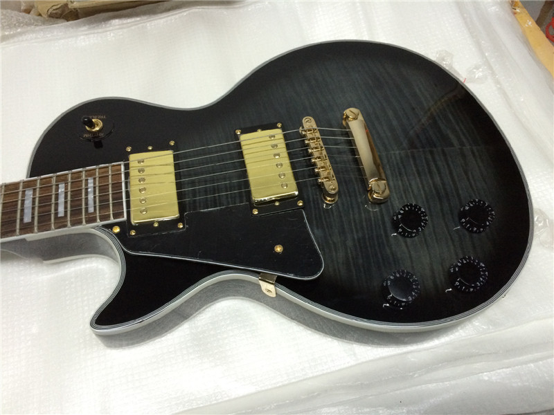 free shipping left hand electric guitar/black color electric guitar/guitarra/guitar in china vegas left hand natural color acoustic electric guitar free bag free shipping