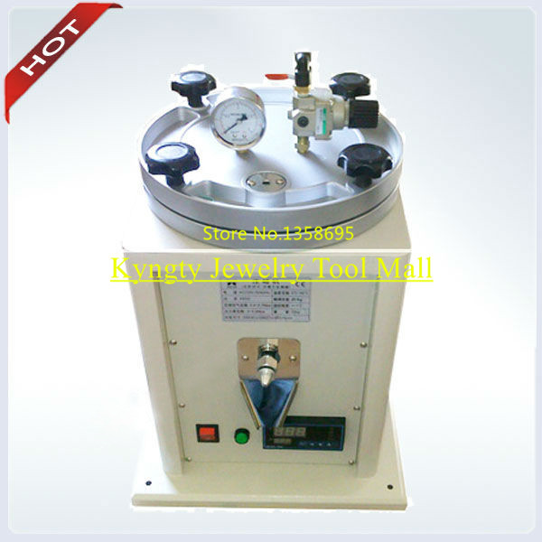 Small Wax Injector 1kg injection Wax Free Jewelry Wax Injection Machine Jewelry machine machinery for Jewellers jewellery tools