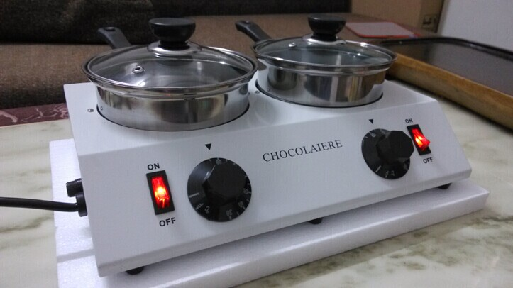 Free shipping Electric 110v 220v commercial Chocolate melter pot